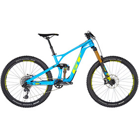 GT Bicycles Force Carbon Pro gloss cyan/gt yellow/deep navy